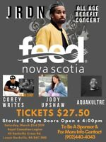 GIVING BACK CONCERT -FEED NOVA SCOTIA