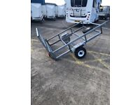 quad or bike trailer 6 x4 with ramp