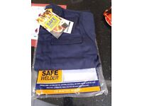 Welder's Overalls. Port West. Sizes XXL and Medium only.