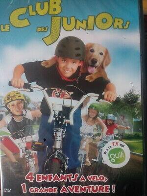 C11 DVD LE CLUB DES JUNIORS 4 enfants à vélo, 1 grande aventure JEUNESSE