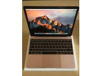 New Apple MacBook Retina 12 inch Rose Gold