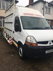 Renault Master Glazing van. LOW MILEAGE. 2010