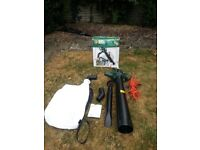 Black and Decker Leafbuster blower and Vac GW150 1100 watts - unused