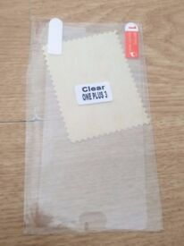 NEW One plus 3 mobile phone screen protector