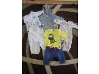 NEXT Bundle Of Baby Boys Clothes. 0-3 Months