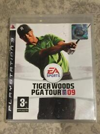 Tiger Woods PGA Tour 09 PS3 Game