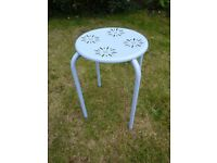 Small metal stool £5