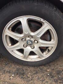 Genuine jaguar wheels 17 inch