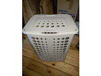 Curver Laundry Basket - Cream - Free