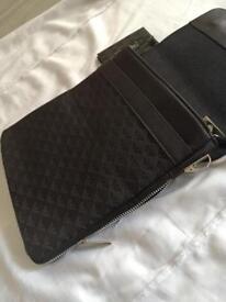 Men's Armani designer pouch/ shoulder bag/ messenger bag