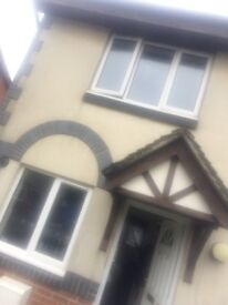 2 bed house carpeted and decorated wanting 3 bed