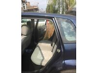 A very condition Ford Fiesta LX 2003, normal factory wheels, 5 doors, manual