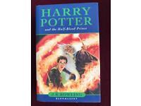 Harry Potter 'first edition'