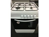 COOKWORKS 60CM ALL GAS COOKER IN WHITE