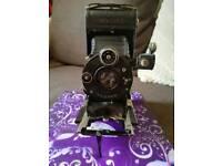Antique Goerz Rollfilm Tenax camera