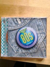 1980s Hits CDs. 50p