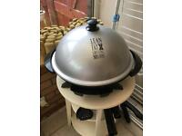 George Foreman outdoor indoor electric grill new