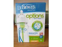 Dr browns bottles x 4