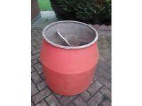 Belle cement mixer drum