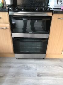 Double oven fan assisted cooker