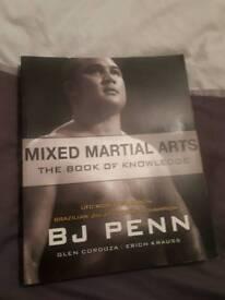 Martial arts book mma