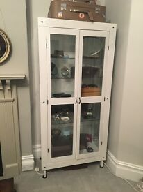 Lovely display cupboard painted