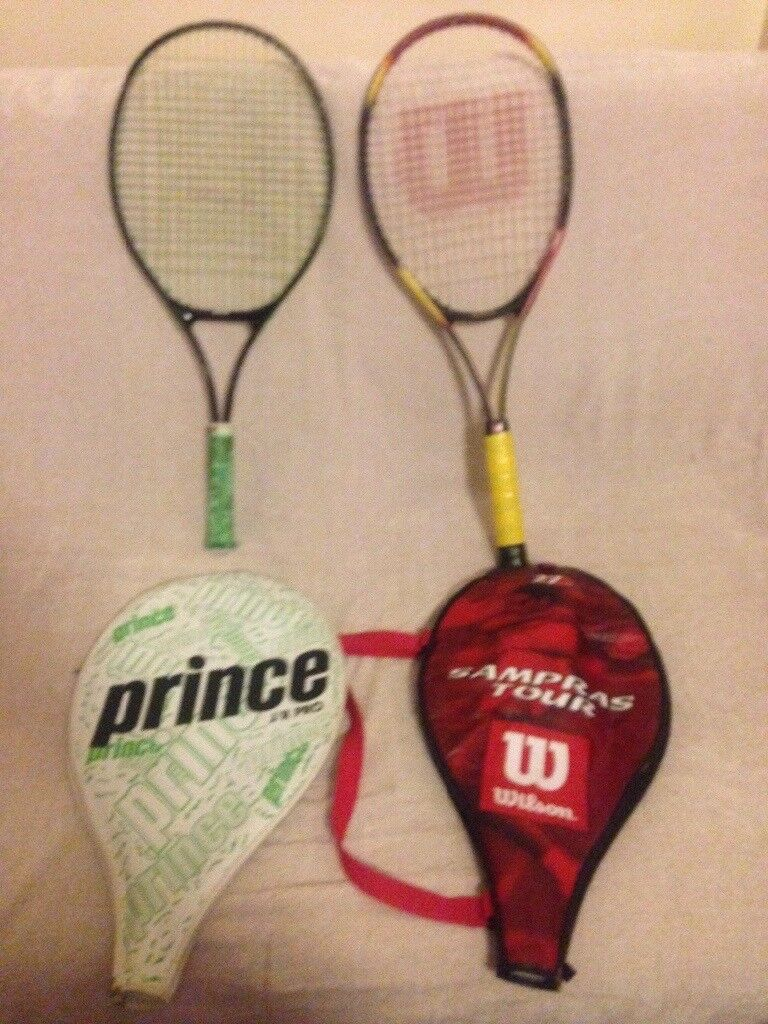 Tennis racquets for only 5 £ both