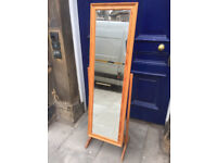 Free Standing Mirror - free local delivery feel free to view in good condition H 60 in W 17 in