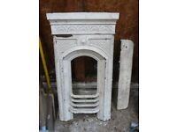 Cast Iron Fireplace with Shelf