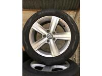"16"" Alloy wheel sets VW Audi Seat"