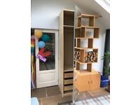 Tall IKEA Billy single wardrobe