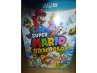 SUPER MARIO 3D WORLD FOR WII U