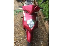 Moped Honda 125cc model ses125-4 starts first time, rides nise, 12 months mot