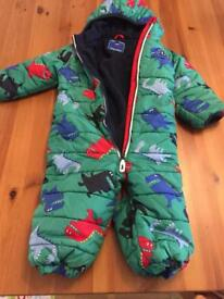 Next Snowsuit 12-18 months