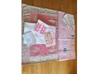 Laura Ashley girls Bella Butterfly and M&S Little Sweetheart bedroom bundle used