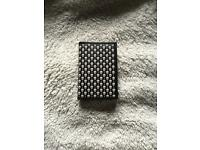 Alexander McQueen skulls and polka dots card holder