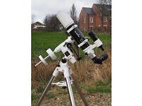 Sky-Watcher 80ED DS PRO REFRACTOR TELESCOPE + MOUNT + TRIPOD + EXTRAS