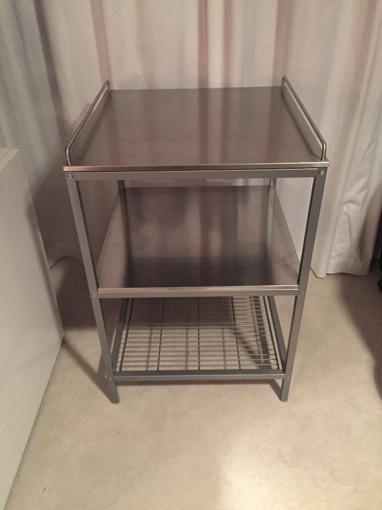 ikea stainless steel kitchen trolley in perth and kinross gumtree