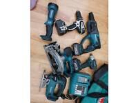 Makita 18v lxt tool kit