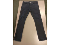 Levi 510 Skinny Fit Black Mens Jeans (RRP £90), W34/L32 in excellent condition