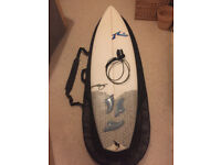 Rusty 'Neil Diamond' Surfboard 6'2""