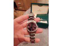 Rolex oyster perpetual red grape 39mm 2016