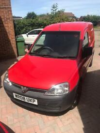 Red Vauxhall Combo 1.3CDTi Ex-Royal Mail Van 100,534 Miles (8 Months MOT)