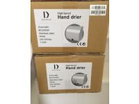 Dolphin High Speed Hand Drier Auto BC2002W White Stainless Steel