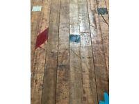Reclaimed Utile Gym Flooring - 400 m2 in stock!
