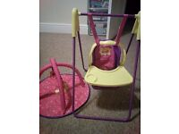 Peppa Pig Doll's Swing/Highchair and Playmat