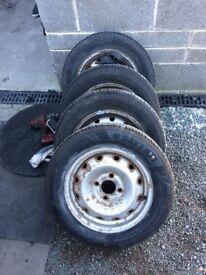 Citroen berlingo tyres x4