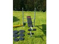 Weights bench -sold