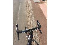Zipp Full Carbon Aerobar (430mm wide) with 110mm aluminium stem - carbon bike handlebar