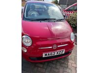 Fiat, 500, Hatchback, 2012, Manual, 1242 (cc), 3 doors